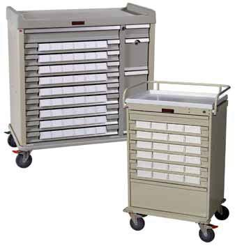 MEDICATION CARTS MEDICATION CARTS FOR VARIOUS PACKAGING AND DISPENSING SYSTEMS Flexibility combined