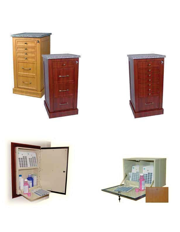 WOOD-LOOK CARTS & CABINETS NARROW CARTS & MEDICATION CABINETS Hospital Grade, Aesthetically Appealing Narrow Wood-Look Carts are designed to provide an efficient and aesthetically appealing storage