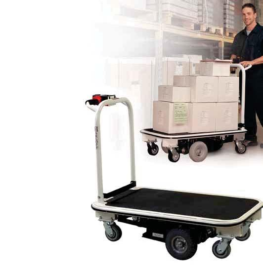 MEDICAL STORAGE & INVENTORY SOLUTIONS POWERED TRANSPORT CART Avoid Workers Comp Claims Transporting bulky and heavy materials within a hospital can expose personnel to risk of injury.