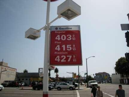 of the cost of diesel fuel