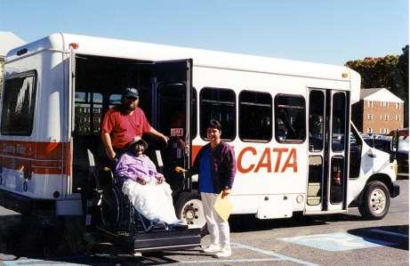 CATARIDE Curb-to-curb transportation: Shared Ride for