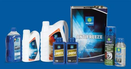 Complementary Products DOT 4 DOT 3 Antifreeze ELC Antifreeze