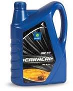 CARACAL 5W-40 New Generation High Performance Engine Oil Technology CARACAL 5W-40 is an engine oil that has been formulated with an excellent combination of synthetic base oils and special additives.
