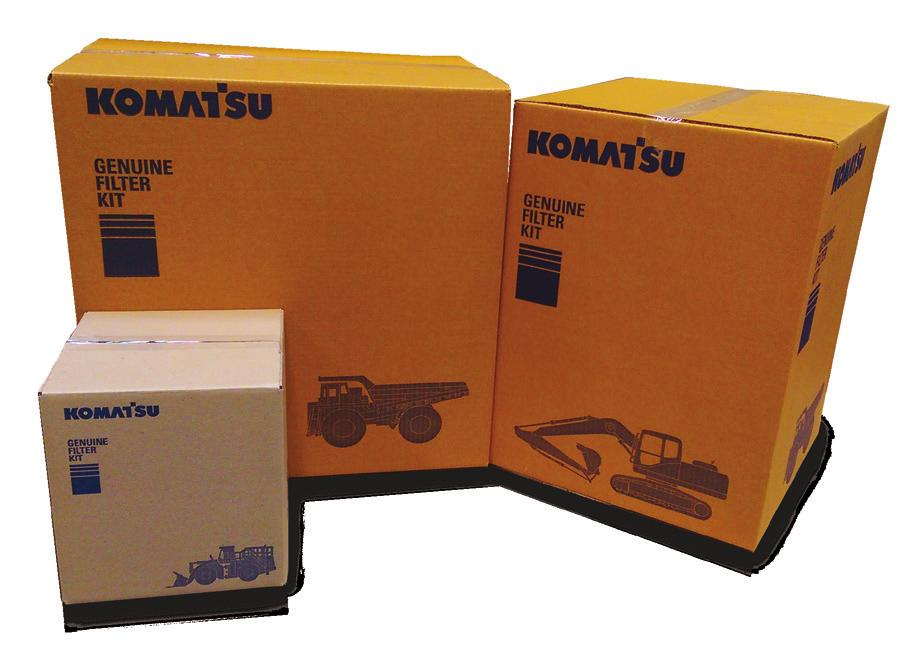 performing Komatsu fuel filters are essential for ensuring clean and uncontaminated fuel to maximise fuel injector and pump life.