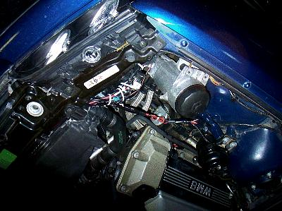 Another picture of the engine compartment