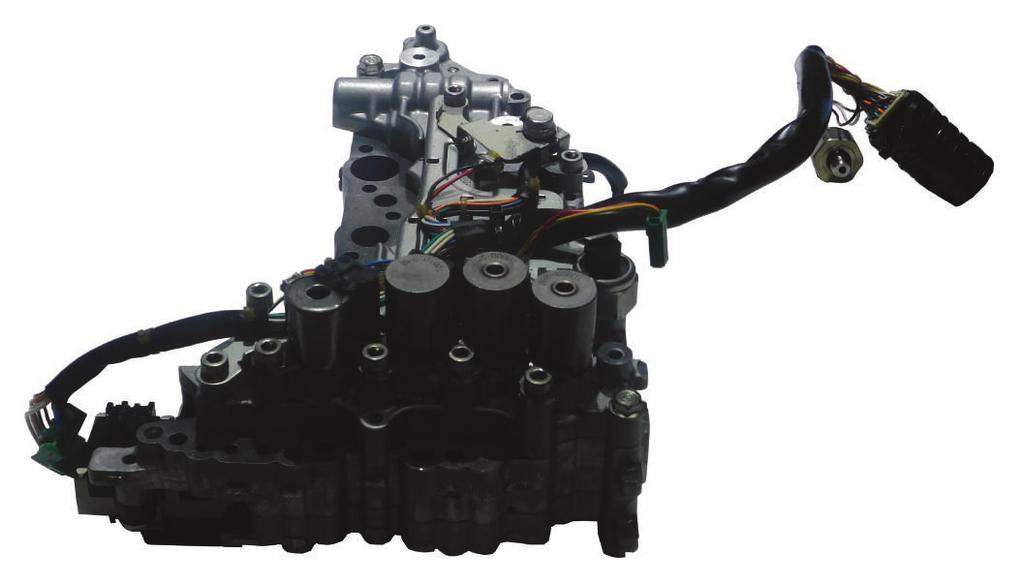 FWD CVT RE0F09A / RE0F09B (JF010E) Valve Body Solenoid Identification H C G F D Bottom Side Of Valve Body J E A B I Alpha Description WIT Part #.