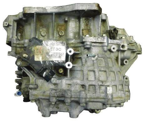 Nissan CVT Transmission ID Tag location