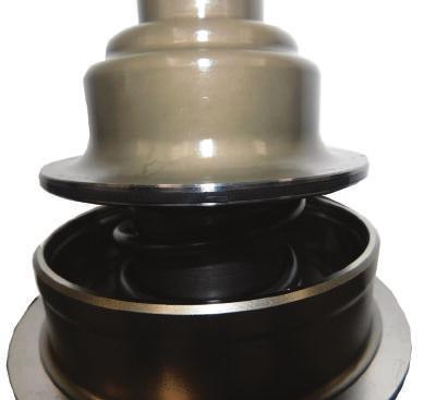 Nissan F10 Series Secondary Pulley Remove the stepped sealing ring from the Apply Piston and inspect for