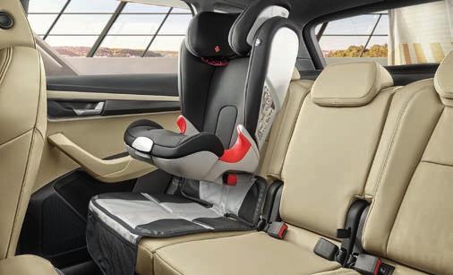 The child seats from with mounting options for transporting against the direction of travel, comfort and variability, represent the best solution for