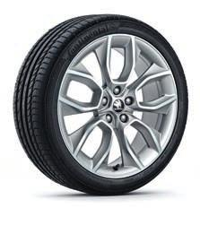 14 15 Crater 57A071499 HA7 light alloy wheel 8Jx19 for 225/40 R19, 225/45 R19 tyres in anthracite design, brushed Crater 57A071499A 8Z8 light alloy wheel 8Jx19 for 225/40 R19, 225/45 R19 tyres in
