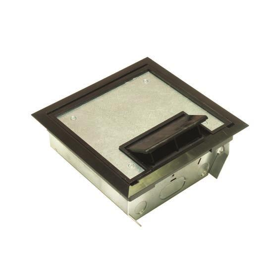 AFM-4 Series Access Floor Module Nonmetallic Covers AFM-4 AFM-4-7-15/16 in. x 7-15/16 in. 7-5/8 in. x 7-5/8 in. 39 sq. in. 150 cu. in. 45º Power 27.3 cu. in. Device 60º Power 25.2 cu. in. Compartment Center Data 20.