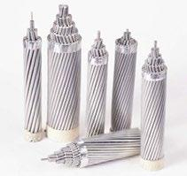 AAAC CONDUCTOR Aluminum Alloy Bare Conductor GERMAN CONDUCTOR SIZES Maximum Overall Resistance Diameter Linear Rated Strength DC at Conductor Size Alloy Area Number Diameter of Conductor Weight