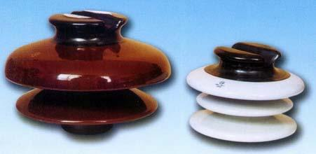 The following pin insulators comply with ASNI Standard. The glaze colors of the insulator are brownor light gray.