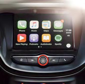 Keep in touch and entertained with an infotainment system that has digital