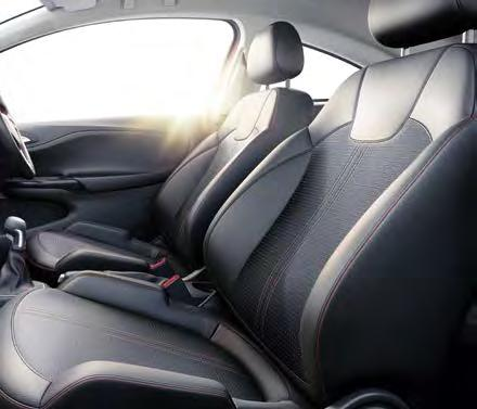 TAKE COMFORT. SELECT A TRIM. OK. Relax. Corsa s interior is, quite simply, a better place to be. We would say that but let you be the judge.
