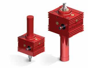 nti-rotation with nti-acklash or Safety Nut The anti-rotation feature can be combined with the nti-acklash or Safety Nut mechanism into one screw jack.