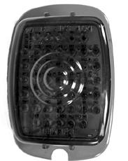 C7003L $ 10 1947-53 P/U Tail Lamp Bkts - Black - Rt.
