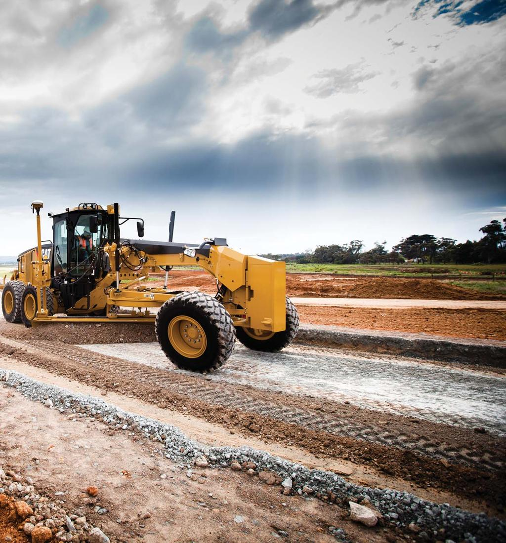 The M Series Motor Grader has become the industry standard in operational efficiency and overall productivity.