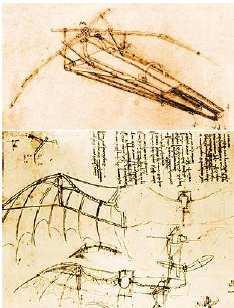 (a) Fig. 3. Study of a flying machine by Leonardo da Vinci Source: http://www.flyingmachines.org/davi.html The British George Cayley (1773-1857), is the true precursor of the aviation.