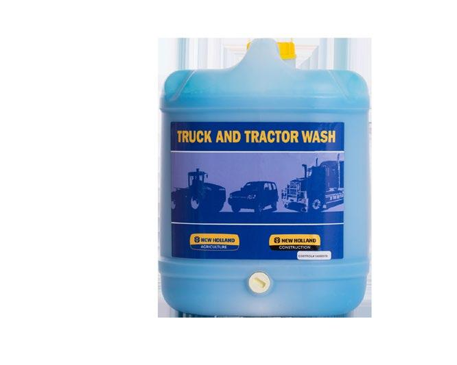 Effective on all surfaces including aluminium. For heavy-duty cleaning, dilute 1 part Truck and Tractor Wash in 10 parts clean water. Apply by low or high pressure spray equipment.