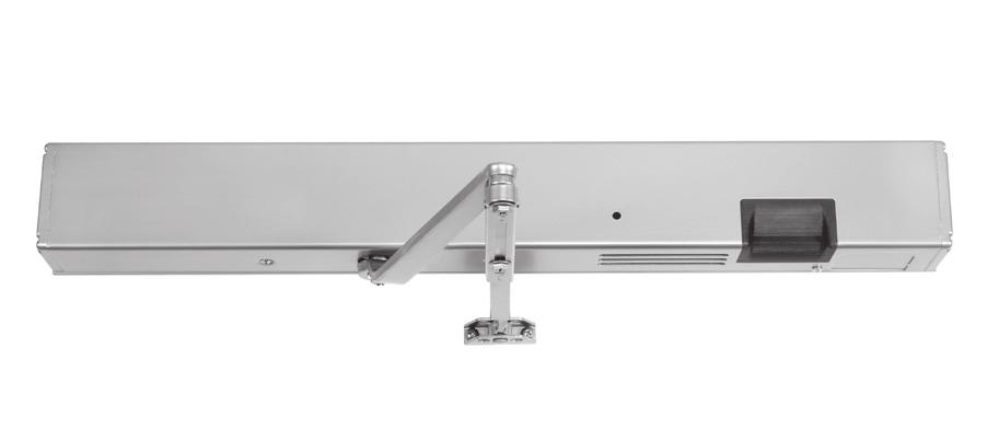INTRODUCTION Designed with safety in mind, SafeZone takes door closers to a higher level. SafeZone uses a multi-point, electromechanical closer and a programmable motion sensor.