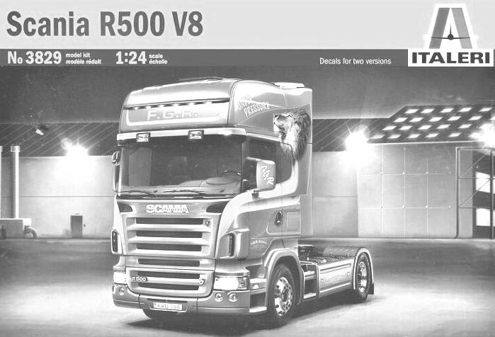 ) 3855 DAF XF105 Space Cab $72.99 3856 Mercedes-Benz Actros & Tank Trailer Flower Power 127.19 3858 Scania R620 Topline R Series 73.