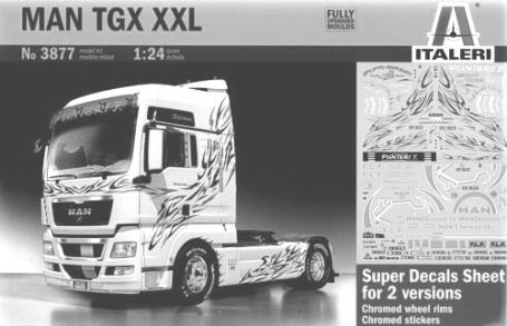 79 3869 Iveco Strails Active Space Cube 79.19 3875 Scania R620 Italeri 50th Anniv. 143.19 3877 MAN TGX XXL 69.