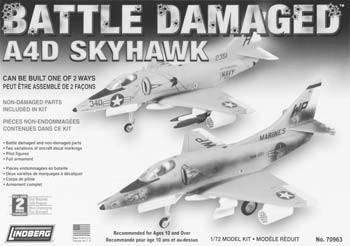 99 70510 Heinkel HE-111 21.99 70559 G4M2 Bomber 21.99 70582 Focke Wulf 7.79 70963 A4D Skyhawk (Kit may be built as battle damaged or undamaged) 14.