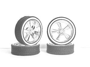 99 60 HOPPIN HYDROS TIRES/RIMS 1/24-1/25 SCALE 400 Low Pro s Whitewalls $5.99 401 Low Profile Tires w/wide Whitewall 5.99 501 Baby D s Gold Spoked Rims 5.