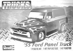 TRUCK KITS 1/24 Scale 0880 55 Ford F100 Street Rod
