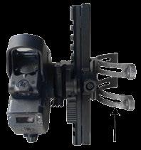 Can be used as bipod rail to improve follow up