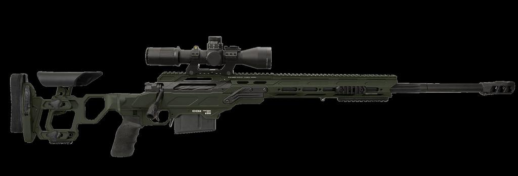 - TAC PRECISION RIFLES The CDX-30 Guardian TAC, CDX-300 Freedom TAC, and CDX-33 Patriot TAC sniper rifles are cost efficient solutions for law enforcement agencies or the civilian market that do not