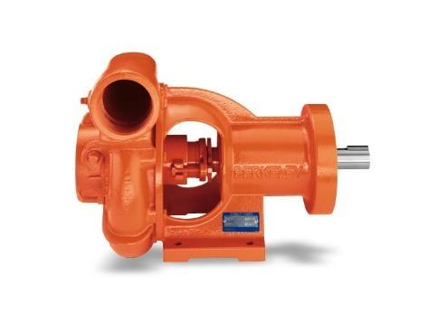"Pumps/PTOs PUMP-CCW-GRV-RP-GR Berkely style pump, counterclockwise B66895,4"" x 3"" grooved with SS shaft, rope"