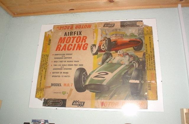 Box for Airfix Motor Racing Model M.R.7 from mid sixties.