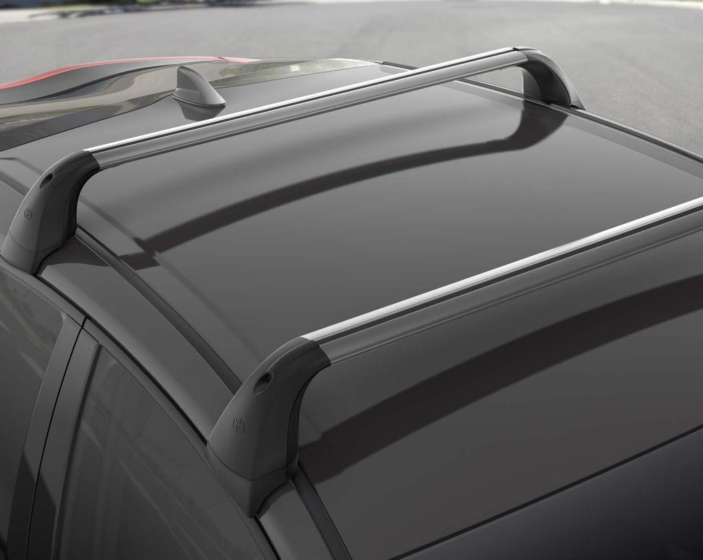 Cargo Cross Bars Take along all kinds of cargo with Genuine Toyota Cargo Cross Bars.