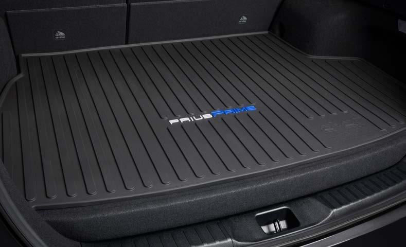 INTERIOR ACCESSORIES Carpet Cargo Mat The ideal solution for helping keep the cargo area of your Prius Prime looking like new.