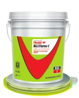 Grease PREMIUM LITHIUM BASED GREASE Available: 500G - 15 KG - 180 KG Veedol Multi Purpose-2 is high quality lithium based grease, processed from premium high viscosity virgin base oils and
