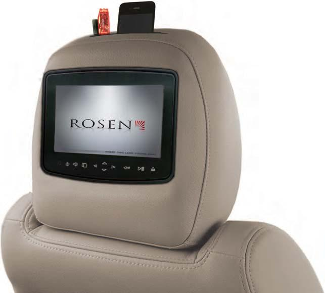 Brought to you by Rosen Launches idoc+ Media Center Rosen Electronics has launched its newest component option for the incredibly successful AV7900 component-based headrest entertainment system.