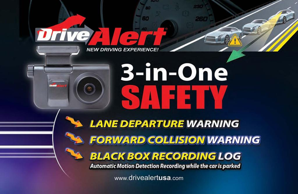 Brought to you by DriveAlert Helps Drivers Stay Alert Lane Departure Warning System
