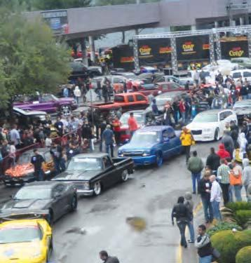 HOT ROD ALLEY Join the SEMA Cruise The SEMA Show is undoubtedly a highlight of the year for the industry, but the highlight for the local populace is the SEMA Cruise, a feature that was introduced