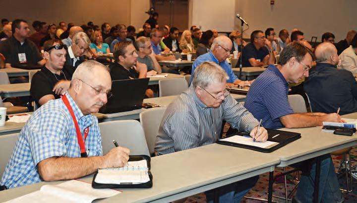 TOOLS & EQUIPMENT Product Knowledge Direct From the Source SEMA Show Product Training Sessions Provide First-Hand Education By Steve Campbell Providing product training to retailers and installers