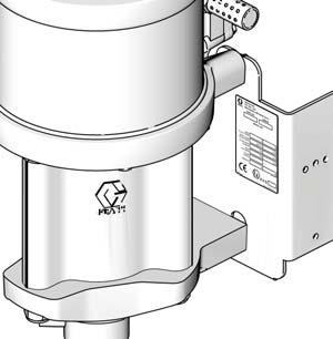For example, package number G30C6 represents a Merkur package (G), with a 30: ratio pump (30), cart mounting (C), and the components shown for (6) in the table on