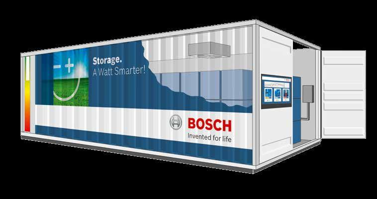 4 Stationary Energy Storage Solutions Bosch: Your reliable and innovative partner for Stationary Storage solutions The Bosch group, truthful to its