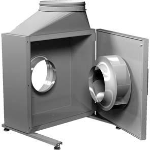 AC Commercial Fans Axair Fans UK Ltd / 1782 34943 Kitchen Extract Fans The Rosenberg KB series is a high quality product, manufactured in Germany for world markets.