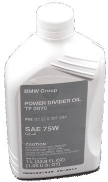 OILS, TRANSFER CASE BMW ATC Transfer Box Oil Shell TF 0870 (OE) Product Details Used in the transfer case of