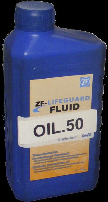 OILS, (OEM) ZF LifeguardFluid 5 is a semi synthetic transmission fluid specially formulated for use in ZF five speed transmission units, although it is also required for the ZF4HP20 transmission.