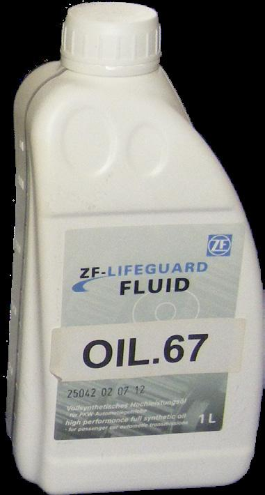 52 LifeguardFluid 6 is a fully synthetic transmission fluid specially formulated for use in ZF six speed transmission units, it is yellow in colour and suitable for the following transmissions: