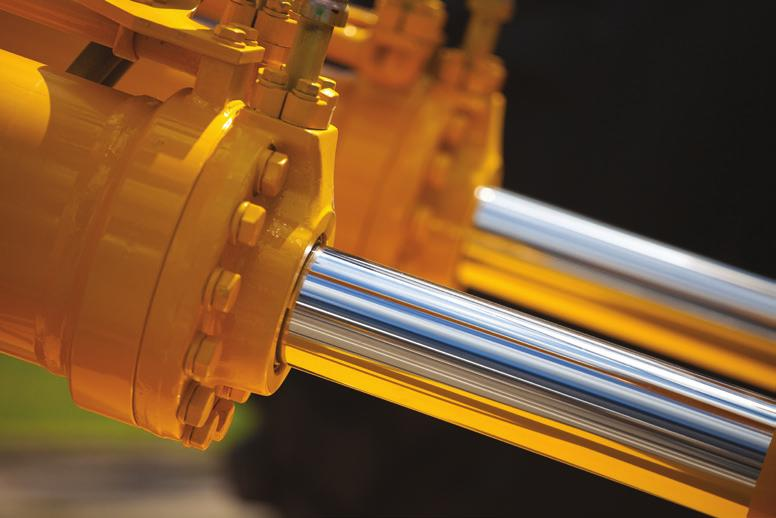 HYDRAULIC OIL HYDRAULIC OIL SAE KV @ 40 DegC KV @ 100 DegC VI ION - HYD HP 32/46/68/100/150/220 High-quality hydraulic oil adapted to most servere conditions.