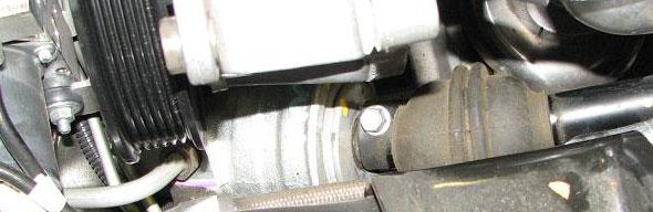 Use GM Ball Joint Separator #J 42188 to separate the steering knuckle from the tie rod ball stud then remove the tool and the nut. Use this procedure for both sides. 56.