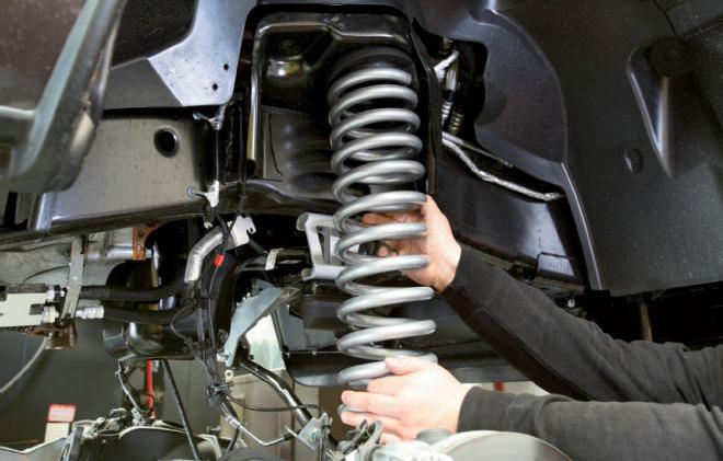 McGaughys designed its new front coil springs with a rising rate to